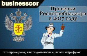 Проверки Роспотребнадзора в 2017 году